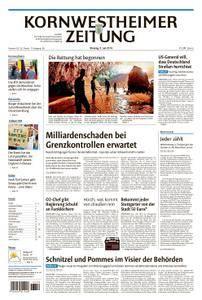 Kornwestheimer Zeitung - 09. Juli 2018