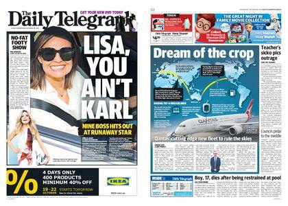 The Daily Telegraph (Sydney) – October 18, 2017