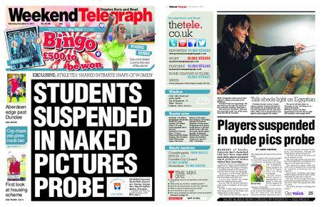 Evening Telegraph First Edition – December 09, 2017