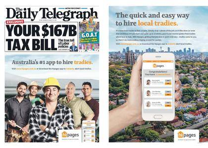 The Daily Telegraph (Sydney) – August 14, 2017