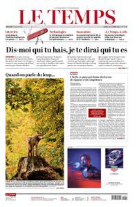 Le Temps - 11 Oktober 2021
