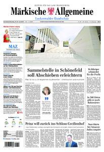 Märkische Allgemeine Luckenwalder Rundschau - 13. Juli 2019