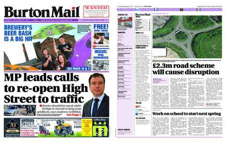 Burton Mail – September 25, 2017