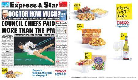 Express and Star City Edition – April 12, 2018
