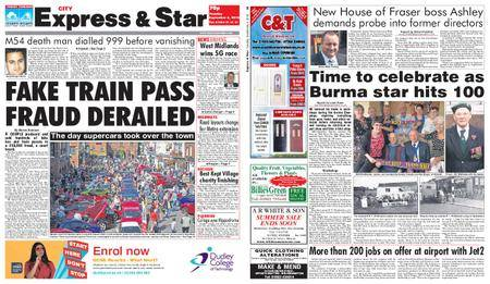 Express and Star City Edition – September 04, 2018