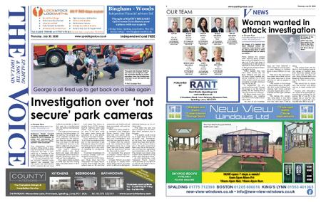 The Spalding & South Holland Voice – July 29, 2020