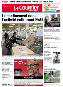 Le Courrier de l'Ouest Angers – 03 novembre 2020