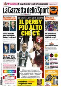 La Gazzetta dello Sport – 03 maggio 2019