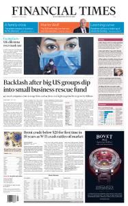 Financial Times Asia - April 22, 2020