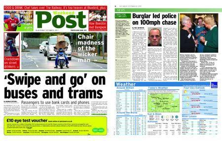 Nottingham Post – October 21, 2017
