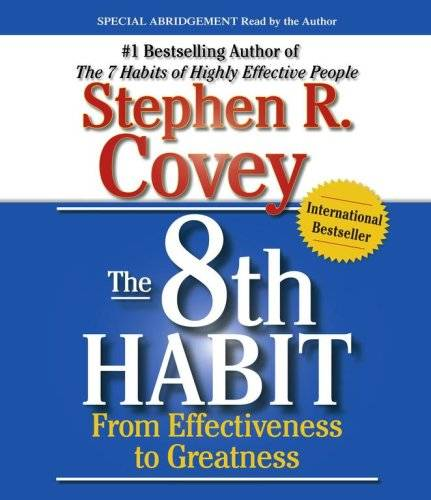 "Stephen R. Covey,""The 8th Habit"" (Audiobook)"