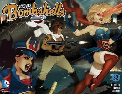 DC Comics - Bombshells 032 2016 Digital