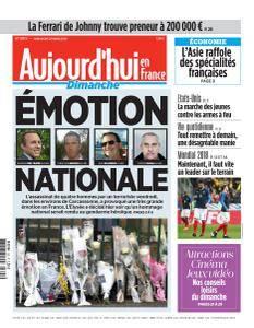Aujourd'hui en France du Dimanche 25 Mars 2018