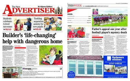 The Herts Advertiser – August 23, 2018