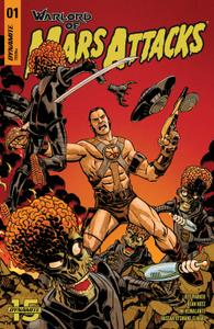 Warlord of Mars Attacks 001 2019 4 covers Digital DR & Quinch