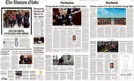 The Boston Globe – December 13, 2017