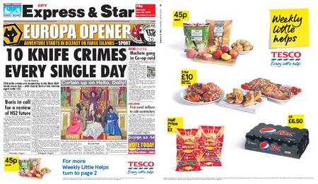 Express and Star City Edition – June 20, 2019