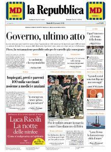 la Repubblica - 12 Gennaio 2021