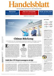 Handelsblatt - 13. August 2019