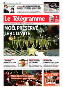 Le Télégramme Brest Abers Iroise – 11 décembre 2020