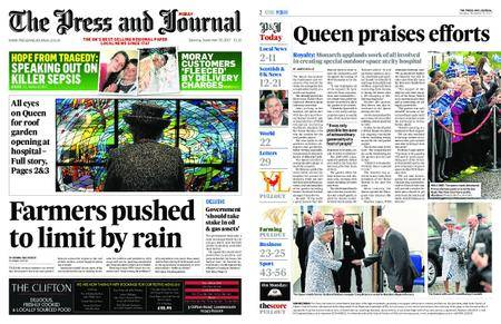 The Press and Journal Moray – September 30, 2017