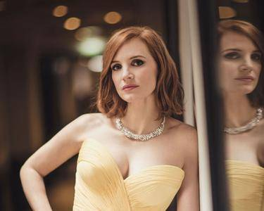 Jessica Chastain by Ugo Richard at the 2016 Cannes Film Festival