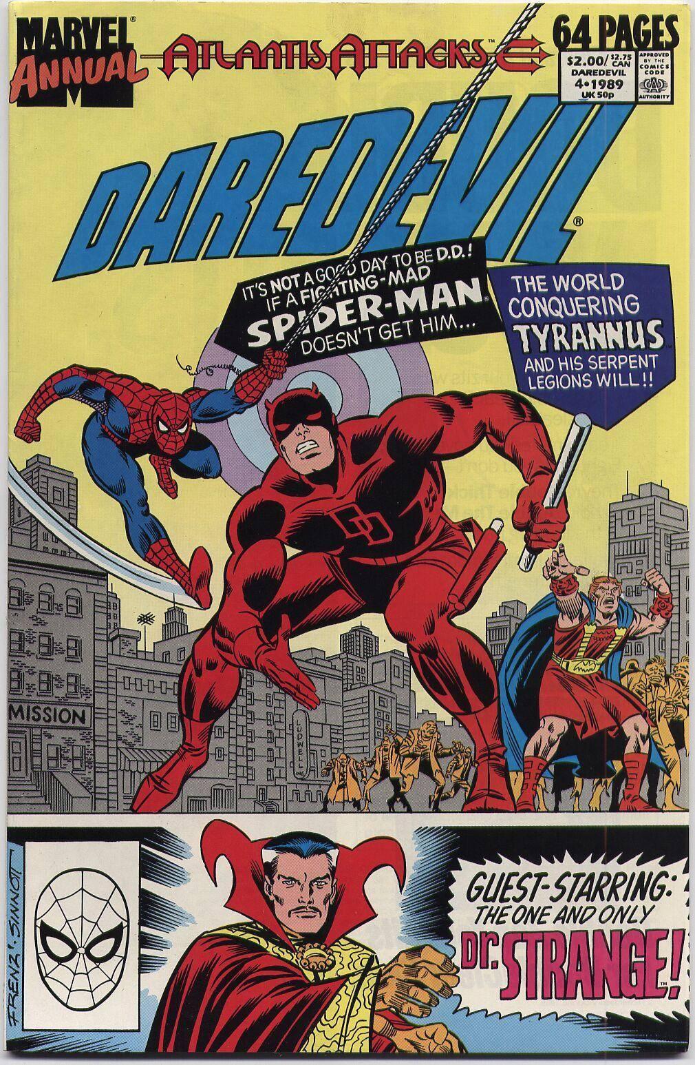 Daredevil v1 Annual 04b 1989 Atlantis Attacks