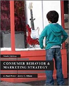 Consumer Behavior [Repost]