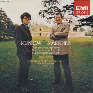 David Munrow, Academy of St Martin-in-the-Fields, Neville Marriner - Munrow & Marriner: Telemann, Sammartini, Handel (2000)