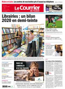 Le Courrier de l'Ouest Angers – 16 janvier 2021
