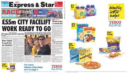Express and Star City Edition – September 05, 2019