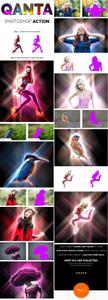 Graphicriver - QANTA - Neon light glowing Effect Photoshop Actions 15935082