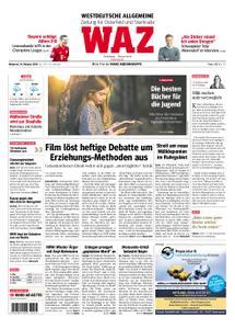 WAZ Westdeutsche Allgemeine Zeitung Oberhausen-Sterkrade - 24. Oktober 2018