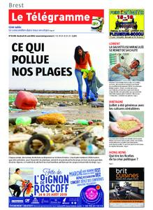 Le Télégramme Landerneau - Lesneven – 16 août 2019