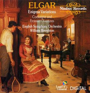 William Boughton, English SO - Edward Elgar: Enigma Variations, Cockaigne and Froissart Overtures (1989)