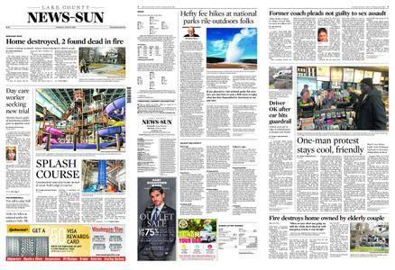 Lake County News-Sun – April 19, 2018