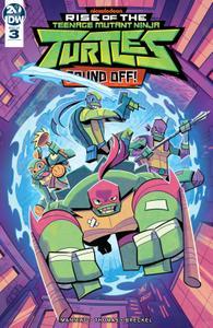 Rise of the Teenage Mutant Ninja Turtles-Sound Off! 003 2019 digital Raphael