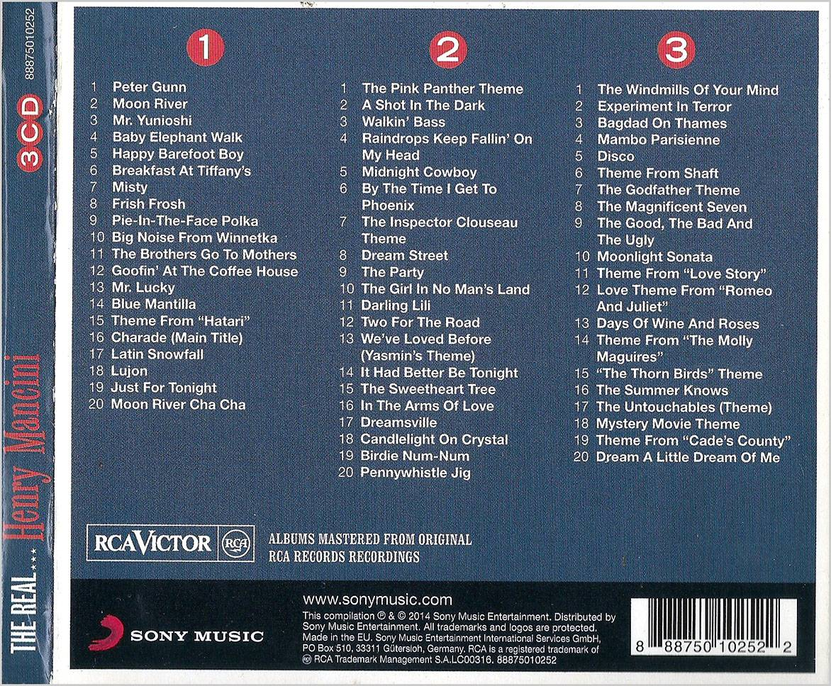 Henry Mancini - The Real    Henry Mancini: The Ultimate Collection