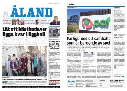 Ålandstidningen – 29 mars 2019