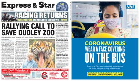 Express and Star City Edition – June 10, 2020