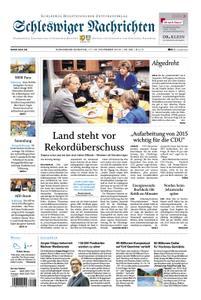 Schleswiger Nachrichten - 17. November 2018