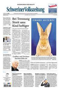 Schweriner Volkszeitung Hagenower Kreisblatt - 31. März 2018