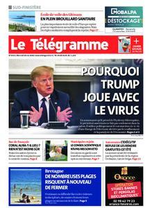 Le Télégramme Ouest Cornouaille – 20 mai 2020