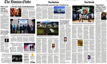 The Boston Globe – January 25, 2019