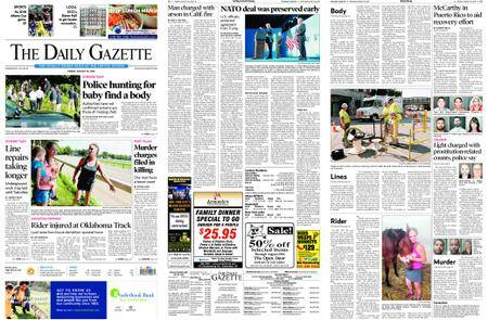 The Daily Gazette – August 10, 2018