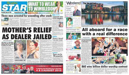 Shropshire Star Shrewsbury Edition – June 30, 2018