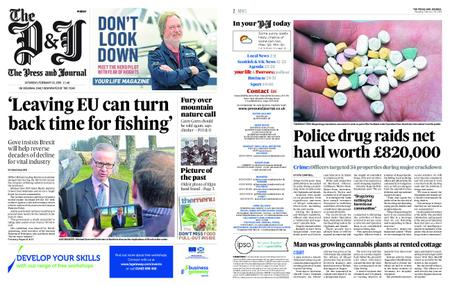 The Press and Journal Moray – February 16, 2019