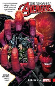 Uncanny Avengers-Unity v04-Red Skull 2017 Digital F Kileko