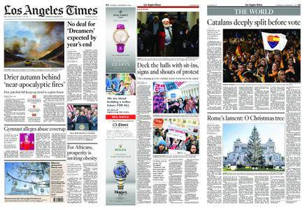 Los Angeles Times – December 21, 2017