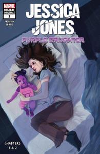 Jessica Jones-Purple Daughter 001 2019 Digital Original Zone
